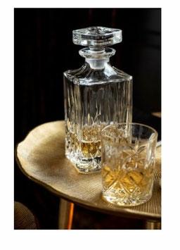 Karaffe Glaskaraffe Whisky Karaffe