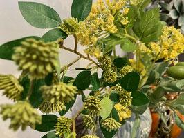 Blütenstrauß täuschend echt bestehend aus 3 einzelnen Blütenstängeln 45cm-60cm