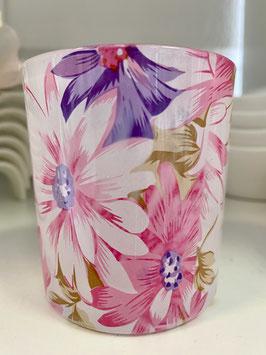 Formano Windlicht/Kerzenhalter/Teelicht Blütentraum 8x7cm