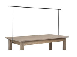 Tischklemme Dekostange Metall Tischdeko