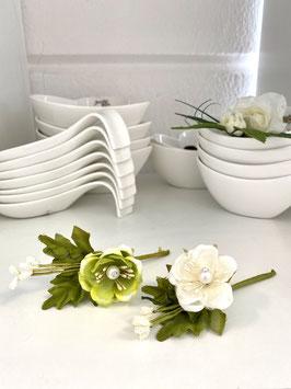 Tischdeko Blüten Hochzeit Geburtstag Basteln Dekorieren Set 3 Stk.