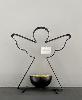 Formano Metall Kerzenhalter-Teelichthalter Engel Weihnachten-Deko-Idee