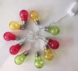 Lichterkette Glühbirne