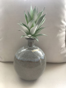 Formano Vasen grau/blau Schale grau/blau oval 40cm x 12cm