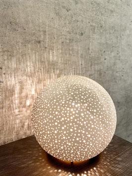 a little more Lampe Porzellan Lampe alt-weiß ca. 20cm