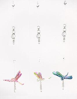 Formano Deko-Hänger Libelle 3er Set  L. ca.66cm