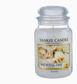 Hochzeiskerze Yankee Candle in drei Größen