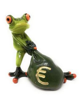 Formano Frosch Money mit Geldsack Geschenk Geld-Geschenk lustig