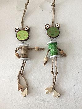 Frosch-Anhäner Garnrolle little more