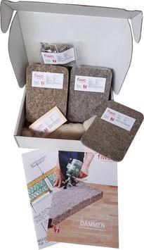 Kostenlose Musterbox | Dämmen