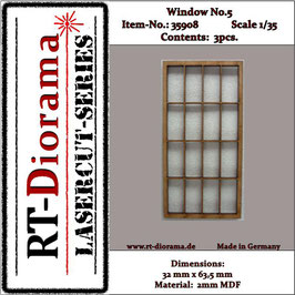 Window No. : 5 (3 pcs)