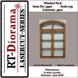 Window No. : 8 (3 pcs)