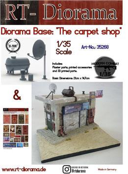 "Diorama-Base: ""The carpet shop"""