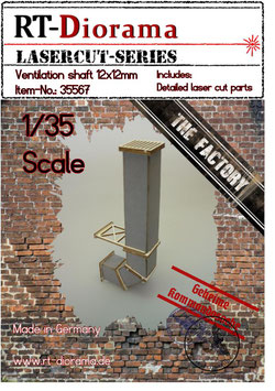 Ventilation shaft 12x12mm