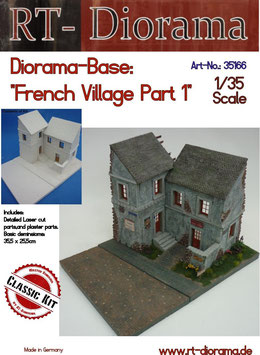 "Diorama-Base: ""French Village"" Part 1"
