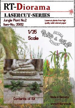Foliage & Scenery: Jungle Plant No.2