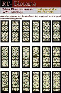 Printed Accessories: Lead-glass windows