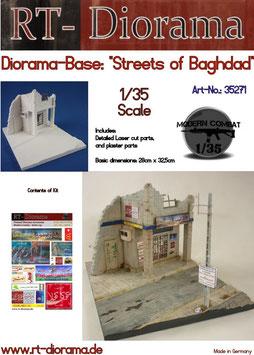 "Diorama-Base: ""Streets of Baghdad"""
