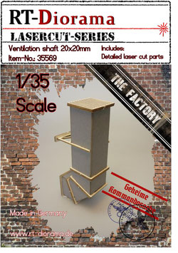 Ventilation shaft 20x20mm