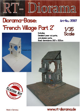 "Diorama-Base: ""French Village"" Part 2"