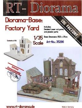 "Diorama-Base:  ""Factory Yard"""