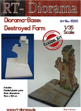 Diorama-Base: Destroyed Farm