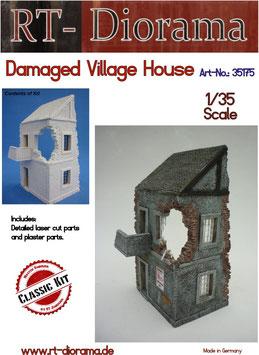 Damaged Village House