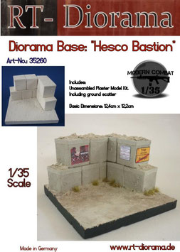 Diorama-Base: Hesco Bastion