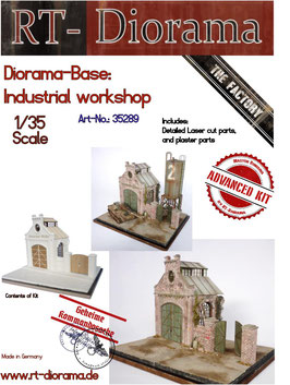 Diorama-Base: Industrial Workshop