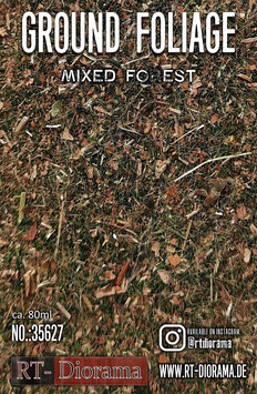 Ground Foliage: Mixed forest