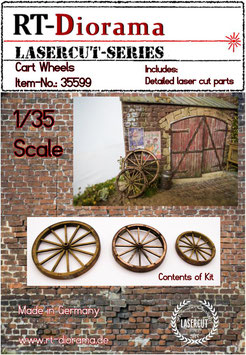 Cart whells (3 pcs.)