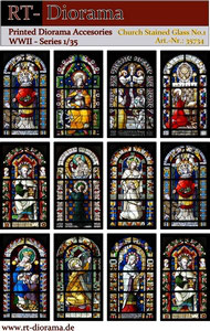 Printed Accessories: Church stained glas windows No.1