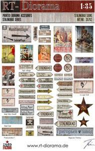 Printed Accessories: Stalingrad Signs