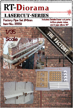 Factory Pipe Set (6mm)  1/35