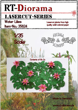 Foliage & Scenery: Water lilies