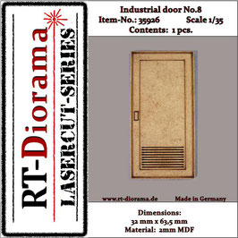 Industrial door No.:8