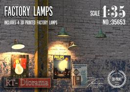 3D Resin Print: Industrial Lamps