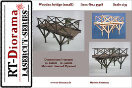 Wooden bridge (small)