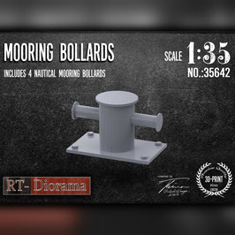 3D Resin Print: Moring bollard (4pcs.)