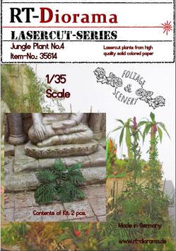 Foliage & Scenery: Jungle Plant No.4