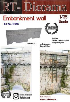 Embankment wall (4pcs)