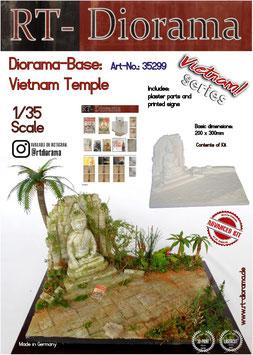 Diorama Base: Vietnam Temple