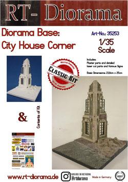Diorama-Base: Cityhouse Corner
