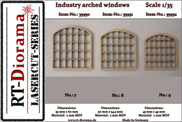 Industry arched windows No.7-No.9