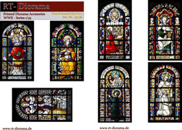 Printed Accessories: Church stained glas windows No.3