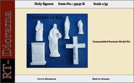 Holy figures (6 pcs.) - Keramic