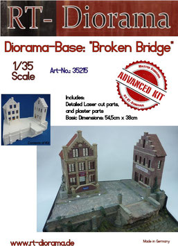 "Diorama-Base:""Broken Bridge"""