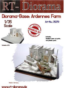Diorama Base: Ardennes Farm