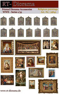 Printed Accessories: Religious - Paintings