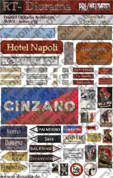 Printed Accessories: Signs Italy